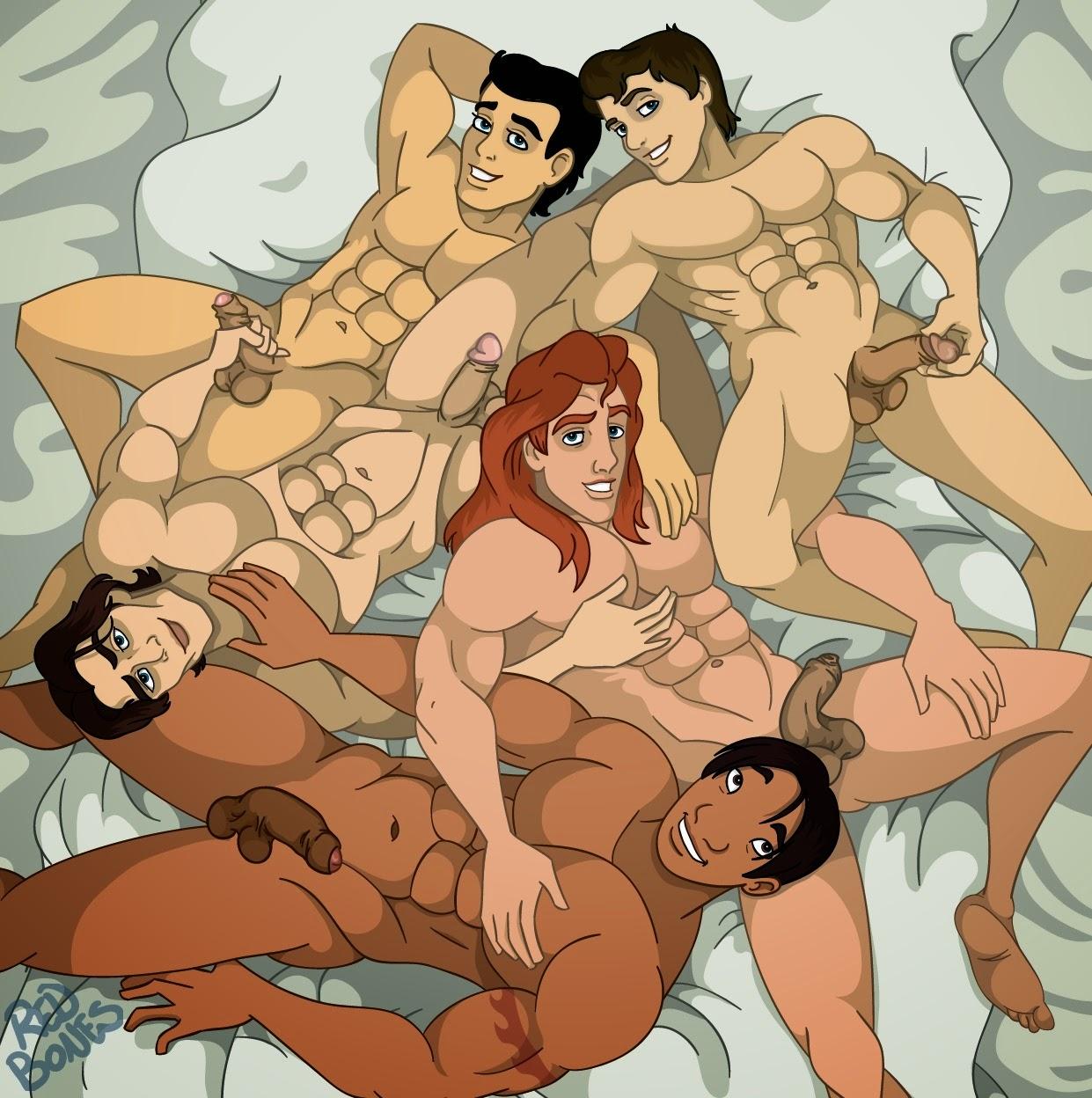 Free Gay Disney Prince Cartoon Porn